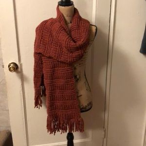 Wool handmade scarf